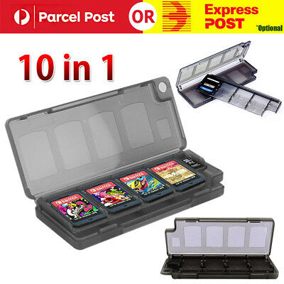10 in 1 Memory Game Card Holder Case Box Organizer For Nintendo Switch