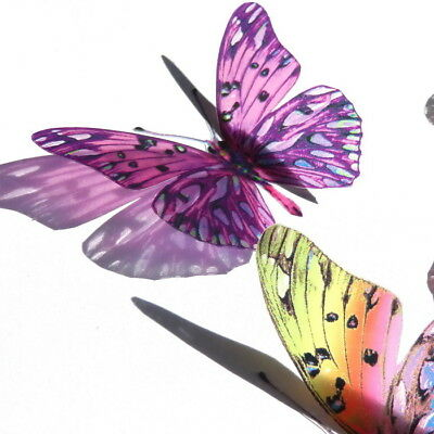 B028 - Acrylic Butterflies Weddings Crafts, Cake Topper, Decorations, Cards