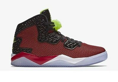 8bd5568b1f63 AIR JORDAN SPIKE Forty Basketball Shoes University Red Ghost Green ...