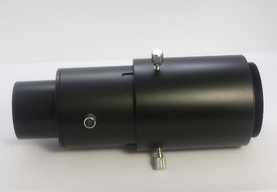 "New adjustable Extension Tube for 1.25"" Telescope Eyepiece T-rings and scope"