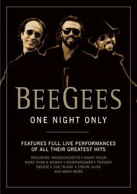 Bee Gees One Night Only DVD All Regions NTSC NEW unsealed