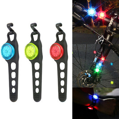 Bright LED Bicycle Cycling Mountain Bike Rear Tail Light Lamp Accessory Amazing