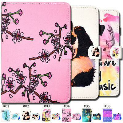 Folio Fashion PU Leather Flip Stand Smart Wake/Sleep Case Cover For Apple iPad