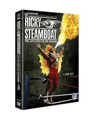 Coffret 3 DVD Catch WWE : Ricky Steamboat - The life story of the Dragon - NEUF