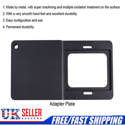 Sports Camera Gimbal Stabilizer Mount Plate Adapter for Gopro Hero 6/5/4/3/3+ UK