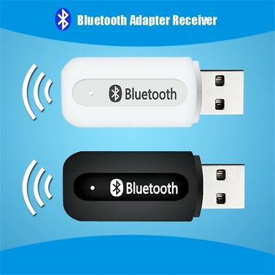 Car Handsfree Aux Stereo Receiver Adapter USB Wireless Bluetooth Audio Music