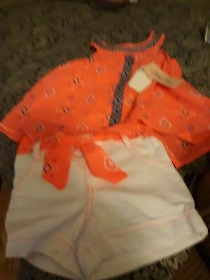 Girls 2 PC Shirt&Short Set
