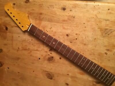 Replacement Stratocaster Neck flamed Maple, Riegelahorn, Pau Ferro