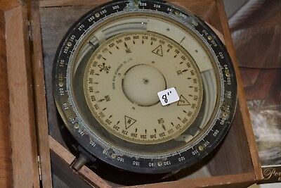 VINTAGE  Antique  Compass  IN BOX