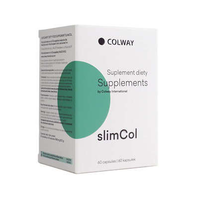 COLWAY SlimCol HERB Plant extracts to combat the fat Burns supports weight loss,