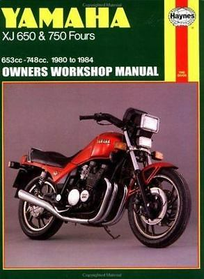 Owners' Workshop Manual: Yamaha XJ 650 and 750 Fours, '80-'84 653CC-748CC
