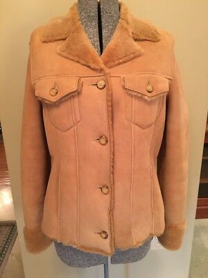 dfa1808f384 EDDIE BAUER LAMBSKIN Leather Jacket womens XXL plus Butter SOFT Coat ...