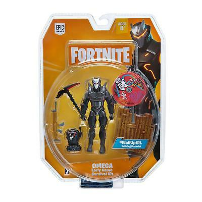 Official Fortnite Omega Early Game Survival Kit Figure NEW 2019