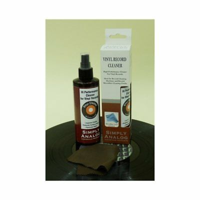 SIMPLY ANALOGUE LIQUIDO SPRAY 200ml PER PULIZIA VINILI + PANNO MICROFIBRA