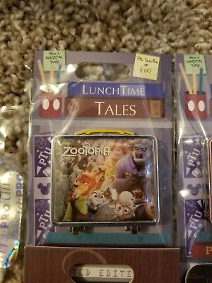 WDW Pin of the Month Lunchtime Tales Disney Zootopia Pin LE