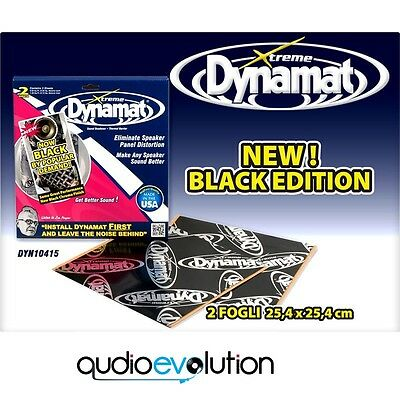 Dynamat Extreme Speaker Kit Y10415 2 Fogli New Black Edition