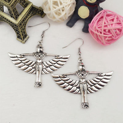 Isis Ancient Egyptian Earrings Maat Egypt Goddess