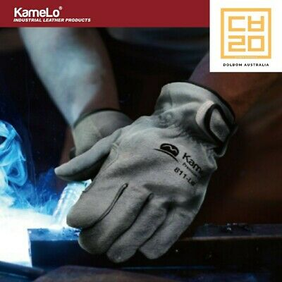 Premium Leather Work gloves, tig welding gloves, 811 - KameLo Korea