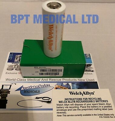 Welch Allyn 72300 3.5v Rechargeable Battery Packs Ref 901000 Nickel-Cadmium