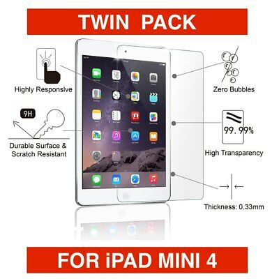 New Premium Tempered Glass Film Screen Protector Guard For  iPad Mini 4
