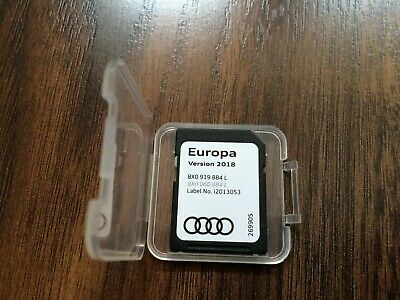 Genuine Audi 2017 Satellite Navigation SAT NAV SD Card Europe 8W0 919 866 M