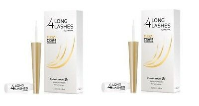 Long 4 Lashes by Oceanic FX5 Power Formula, Eyelash Serum, 3ml (Pack of 2)