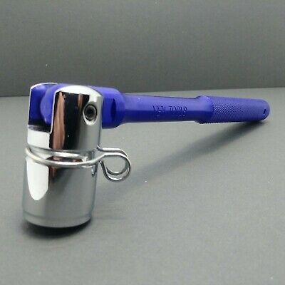 MEK Aluminium Scaffold Spanner 21mm Bi-Hex Box Poka Handle BLUE KNURLED