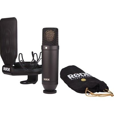 Rode NT1 Cardioid Condenser Microphone (Kit with SMR Shockmount) NT1KIT