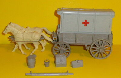 Marx Civil War Medical Wagon Accessories