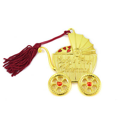 Gorham Baby's First Christmas Carriage