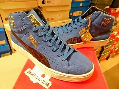 New Puma X Undftd Mid Undefeated 24K Gold Pack Royal Blue Black 348216-04 Sz 0c96446e3d