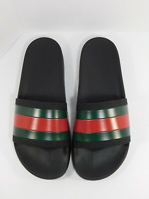 90d4bdcdc7b5 MEN S GUCCI  PURSUIT Treck  Slide Sandal Black Size 7 -  169.98 ...