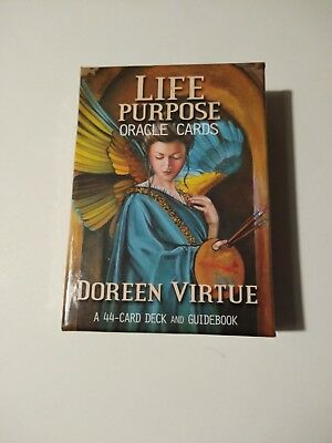 Life Purpose Oracle Deck - 44 Cards & Guidebook By Doreen Virtue - Hay House