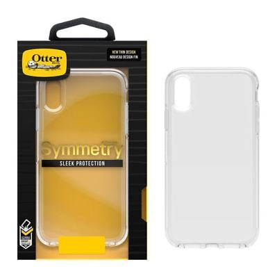 New Authentic iPhone  XR OtterBox Symmetry Series Case Clear OEM Transparent