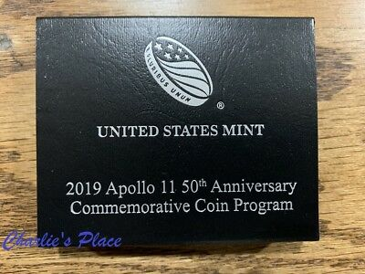 2019 Apollo 11 50th Anniversary Uncirculated Clad Half Dollar (19CG)