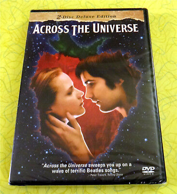 Across the Universe ~ New DVD Movie ~ 2007 Beatles Musical ~ Rare Deluxe Edition