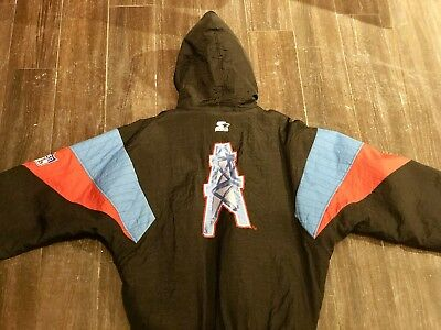 c468d75fc Vintage Houston Oilers Starter NFL Jacket LARGE RARE TRAVIS SCOTT CACTUS  JACK