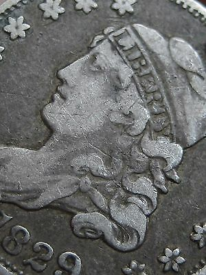 1829 Capped Bust Half Dime- VF/XF Details