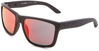 ARNETTE AN 4177-17 Witch Doctor 2230 6Q Gloss Black Red Mirror Mens ... 733f7c8f09