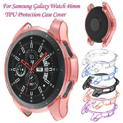 Thin Soft TPU Protection Silicone Watch Case Cover For Samsung Galaxy Watch 46mm