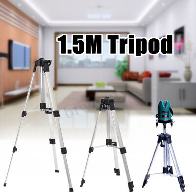 1.5m Adjustable Automatic Self Rotary Leveling Laser Level Measure Tripod Stand