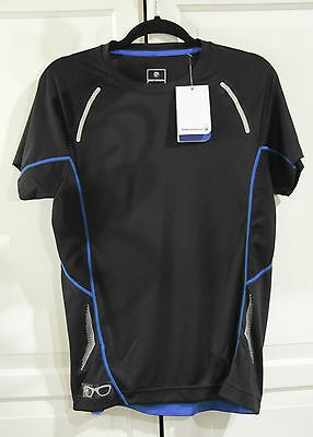 NWT! Genuine BMW Group Athletics Unisex SPORT SHIRT S Black 80 14 2 361 077