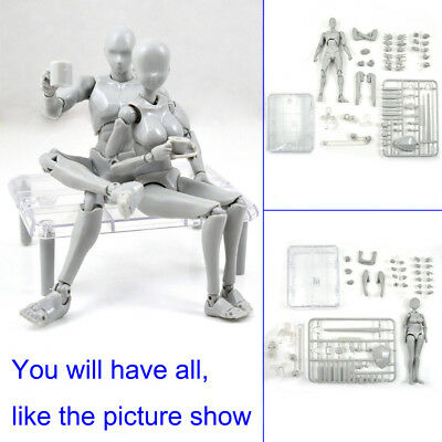 2.0 Body Kun Doll PVC Body-Chan DX Action Art Figure Model Drawing for SHF