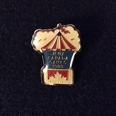 1989 Jeux Canada Games Petro Canada Sponsor Pin - Gas Oil Saskatoon Summer