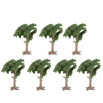 10cm Cycad Model Tree House Living Room Green Landscape Scenery Dioramas