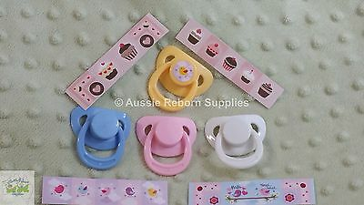 Reborn Baby Doll Magnetic Dummy Pacifier in your choice of Colour