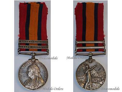 Britain Queen's South Africa Military Medal Imperial Yeomanry 1902 Cape Colony