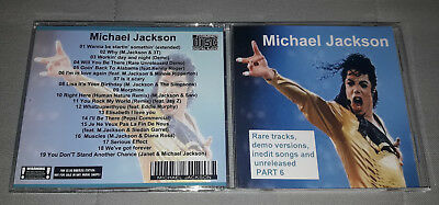 Michael Jackson - CD Rare tracks, demo versions, inedit songs and unreleased 6
