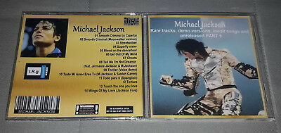 Michael Jackson - CD Rare tracks, demo versions, inedit songs and unreleased 5
