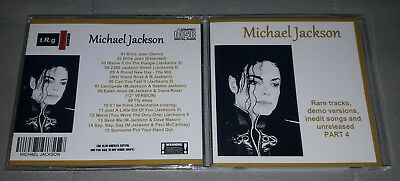 Michael Jackson - CD Rare tracks, demo versions, inedit songs and unreleased 4